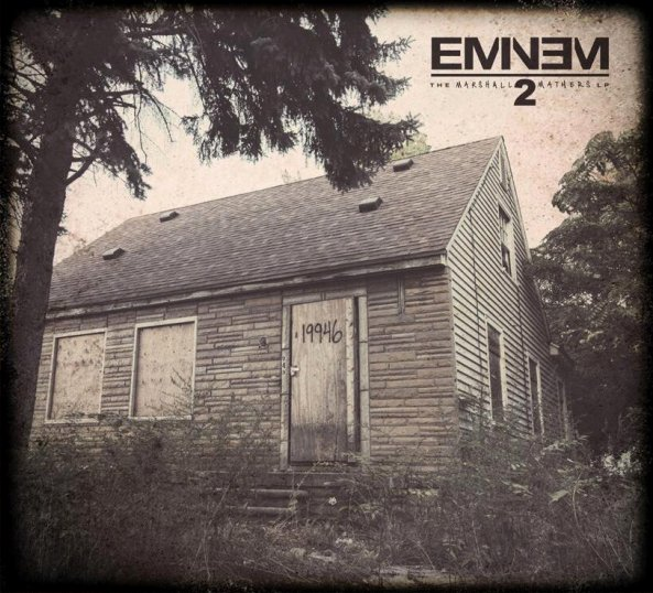 eminem mmlp2 cover art